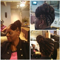 Photo taken at Duafe Holistic Hair Care by Syreeta S. on 4/3/2013