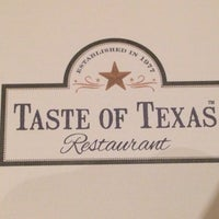 Photo taken at Taste of Texas by Kangdon L. on 9/7/2014