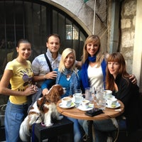 Photo taken at Caffe Bar Volta by Sabrina B. on 10/7/2012