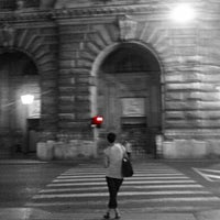 Photo taken at Via XX Settembre by Simone D. on 8/28/2013