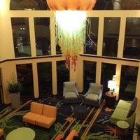 Photo taken at Fairfield Inn & Suites Santa Cruz - Capitola by Katie F. on 11/19/2013