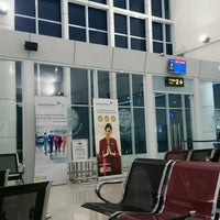 Photo taken at Bandara Jalaluddin (GTO) by Nivho L. on 11/21/2016