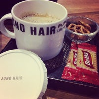 Photo taken at JUNO HAIR by SP P. on 12/14/2014