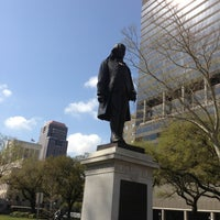 Photo taken at Lafayette Square by Patrick on 3/18/2013
