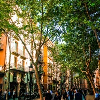 Photo taken at Passeig del Born by Eigil M. on 5/25/2016