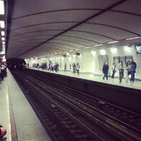 Photo taken at Syntagma Metro Station by Petros A. on 3/29/2013