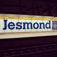 Photo taken at Jesmond Metro Station by Petros A. on 3/10/2013