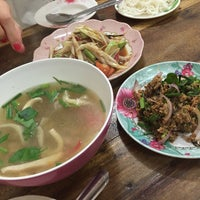 Photo taken at ร้านลูกหิน ส้มตำ อาหารอีสาน by Mim P. on 11/24/2015