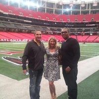 Photo taken at Atlanta Falcons Owners Club by Brandice T. on 10/18/2013