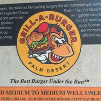 Photo taken at Grill-A-Burger by Erik W. on 4/21/2016
