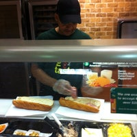 Photo taken at SUBWAY by Dave S. on 1/24/2013