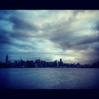 Photo taken at Williamsburg Waterfront by Monica S. on 10/30/2012