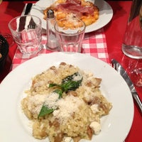 Photo taken at Little Italy Trattoria by Aude P. on 10/12/2012