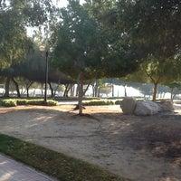 Photo taken at Al Mamzar Park by Elena S. on 1/20/2013