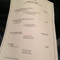 Photo taken at Paul Recital Hall at Juilliard by Tokuyuki K. on 4/27/2013