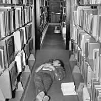 Photo taken at Mugar Library by Boston University on 12/18/2012