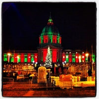 Photo taken at Civic Center Plaza by Lauren R. on 12/14/2012