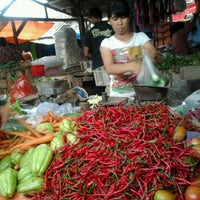 Photo taken at Pasar Perumnas Way Kandis by Allen G. on 12/28/2012