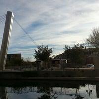 Photo taken at Soleri Bridge & Plaza by Rosario S. on 12/26/2012