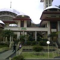 Photo taken at Masjid Atta'awun by Ruli S. on 10/23/2012