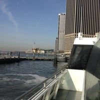 Photo taken at NY Waterway Ferry - Wall St/Pier 11 Terminal by Scott B. on 4/9/2013