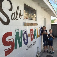 Photo taken at Sal's Sno-Ball Stand by Glenn W. on 10/8/2016