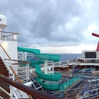 Photo taken at Carnival Liberty Ship by Rob M. on 3/5/2013
