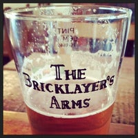 Photo taken at The Bricklayer's Arms by Ferran T. on 10/1/2013