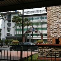 Photo taken at Dewan Bandaraya Kota Kinabalu by Magdonny S. on 4/15/2013