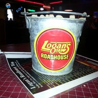Photo taken at Logan's Roadhouse by Edward S. on 1/6/2013