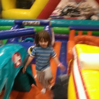 Photo taken at Bounce Realm by Amanda D. on 12/11/2012