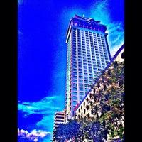 Photo taken at Crown Regency Hotel by Iam K. on 1/29/2013