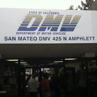 Photo taken at San Mateo DMV Office by Mason W. on 10/11/2012