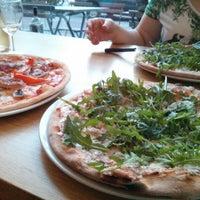 Photo taken at YamYam Trattoria Pizzeria by Lauren M. on 7/20/2013