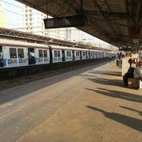 Photo taken at Jogeshwari Railway Station by Prasid on 12/16/2012