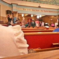 Photo taken at Canaan Baptist Church by Emiliano B. on 4/6/2014