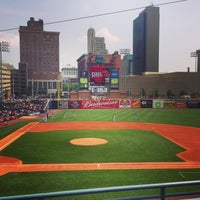 Photo taken at Fifth Third Field by Kelsey S. on 7/5/2013
