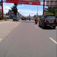 Photo taken at Jalan Urip Sumoharjo by Chakke Shake B. on 4/11/2013