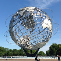 Photo taken at The Unisphere by Van S. on 5/27/2013