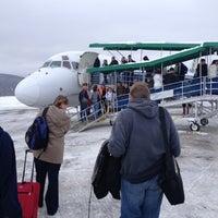 Photo taken at Elmira / Corning Regional Airport (ELM) by Jonathan C. on 12/27/2012