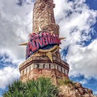 Photo taken at Islands Of Adventure Lighthouse by Paige on 10/20/2014