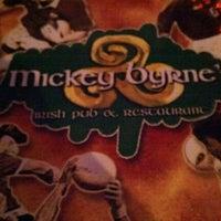 Photo taken at Mickey Byrne's Irish Pub by Geoffrey A. on 10/23/2012