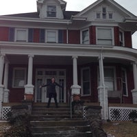 Photo taken at Red House- Alpha Sigma Tau by Jessica on 2/2/2014