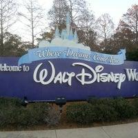 Photo taken at Walt Disney World Entrance by Louis S. on 2/8/2013
