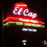 Photo taken at El Cap Restaurant by Chris H. on 9/15/2012