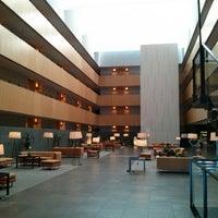 Photo taken at Hotel Tryp Barcelona Aeroport by Fabio M. on 8/10/2013