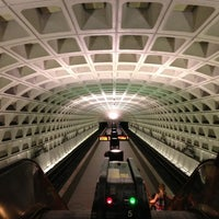 Photo taken at Federal Triangle Metro Station by Dave O. on 7/14/2013