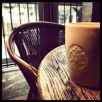 Photo taken at Starbucks by apple b. on 1/17/2013