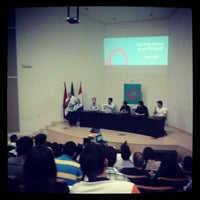 Photo taken at Auditorio da Reitoria by Guilherme L. on 9/6/2013
