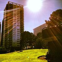 Photo taken at Sydney Walton Park by Thomas W. on 10/30/2012